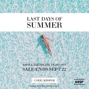 KRSP Last Days Of Summer